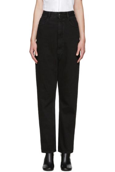 MM6 Maison Margiela - Black High-Rise Jeans