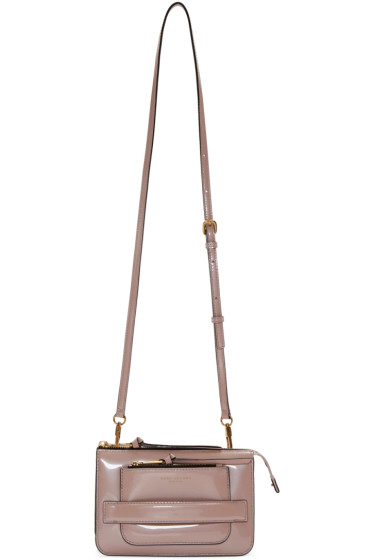 Marc Jacobs - Pink Patent Leather Madison Crossbody Bag