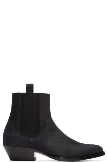 Marc Jacobs - Black Suede Chelsea Boots