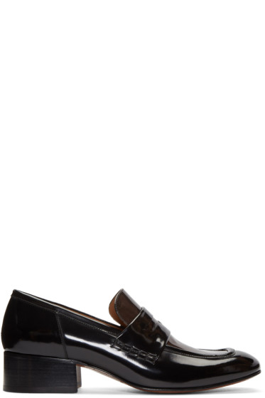 Marc Jacobs - Black Two-Tone Loafers