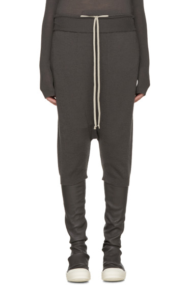 Rick Owens - Taupe Wool Pods Lounge Pants