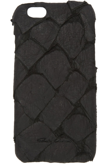 Rick Owens - Black Fish Leather iPhone 6 Case