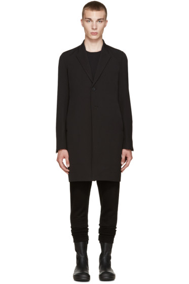Rick Owens - Black Pharmacy Coat