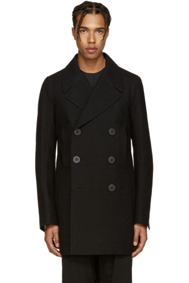 Rick Owens - Black Church Peacoat