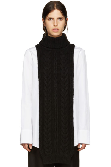 Jil Sander - Black Turtleneck Collar