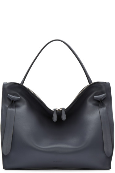 Jil Sander - Grey Medium Hill Bag