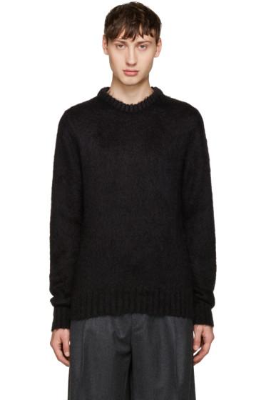 Jil Sander - Black Mohair Sweater
