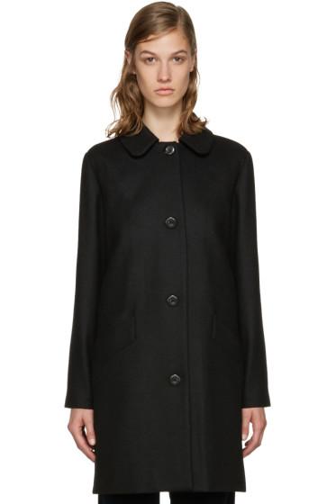 A.P.C. - Black Doll Coat