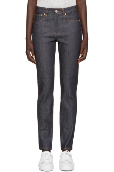 A.P.C. - Indigo High Standard Jeans