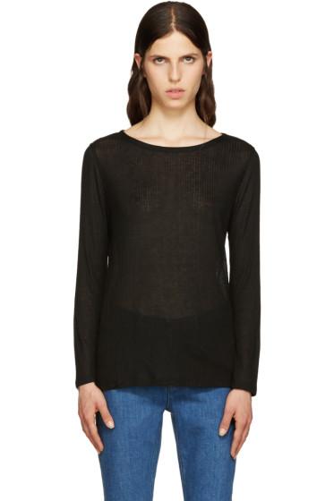 A.P.C. - Black Regina T-Shirt