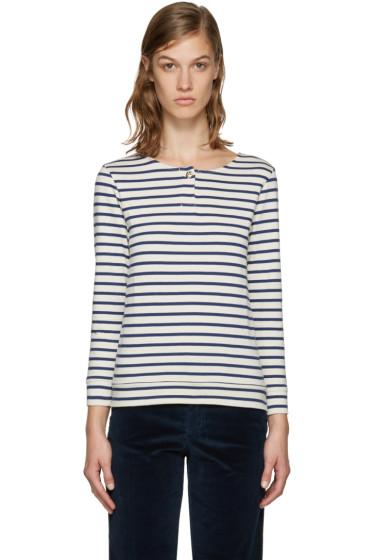 A.P.C. - Navy Veronica T-Shirt
