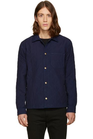 A.P.C. - Indigo Surchemise Cole Jacket