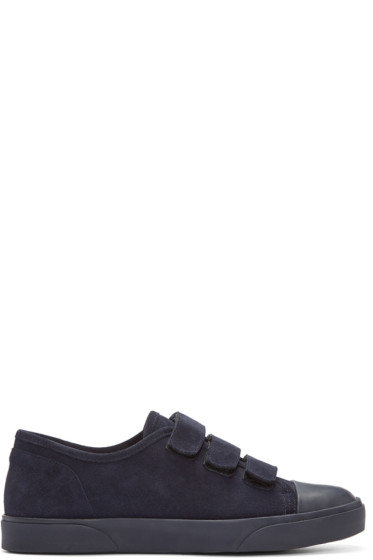 A.P.C. - Navy Sam Sneakers