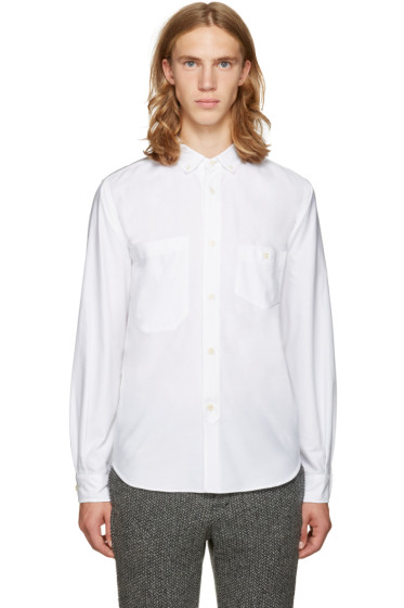 Junya Watanabe - Reversible White Pocket Shirt