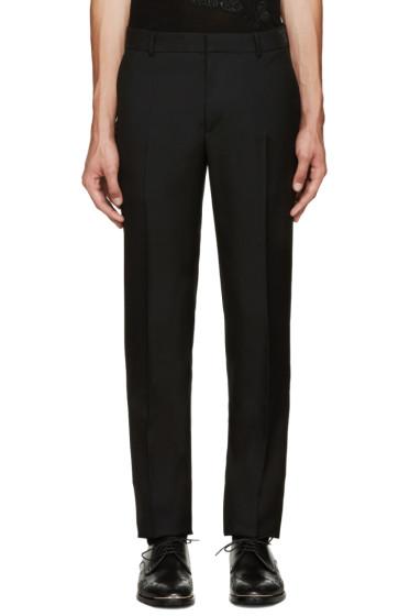 Alexander McQueen - Black Wool Trousers