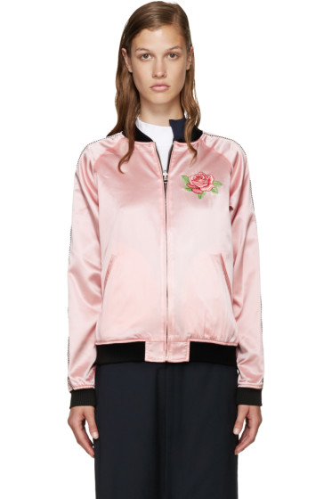 Opening Ceremony - Pink Silk Reversible Jacket