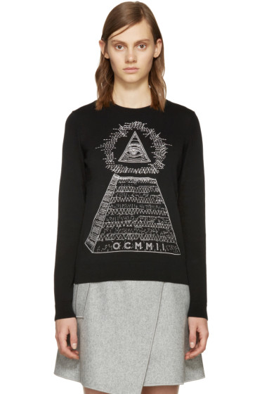 Opening Ceremony - Black Pyramid Sweater