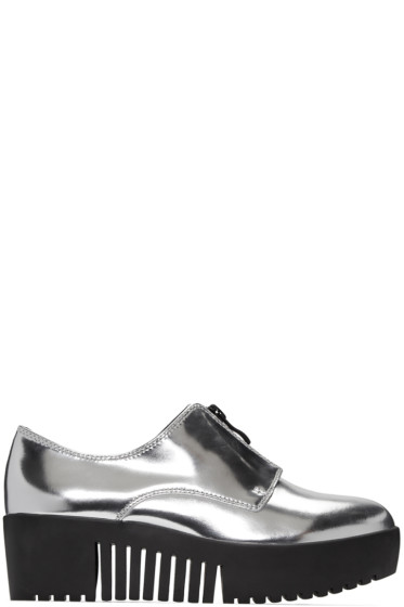 Opening Ceremony - Silver Zip-Front Derbys