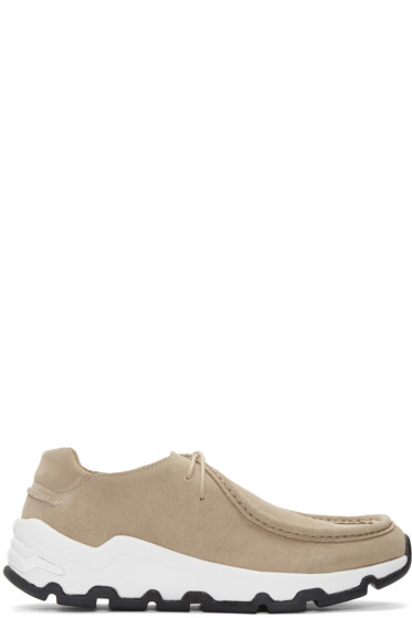 Opening Ceremony - Beige Suede Dracco Sneakers