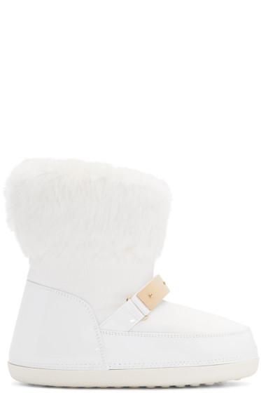 Giuseppe Zanotti - White Snow Boots
