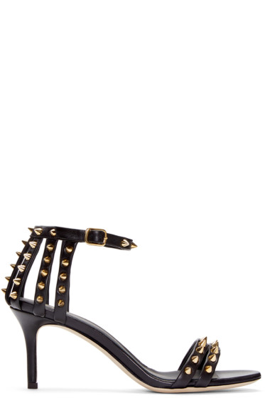 Giuseppe Zanotti - Black Studded Heels