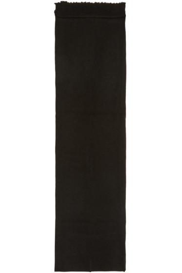 Damir Doma - Black Wool Ariosto Scarf