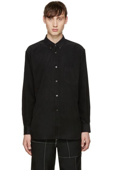 Comme des Garçons Shirt - Black Corduroy Shirt