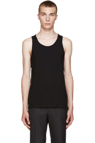 Comme des Garçons Shirt - Black Basic Jersey Tank Top