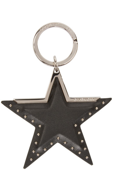 Givenchy - Black Star Keychain