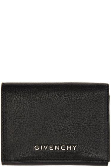 Givenchy - Black Trifold Pandora Wallet