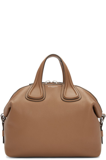 Givenchy - Tan Medium Nightingale Bag