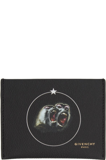 Givenchy - Black Monkey Brothers Card Holder