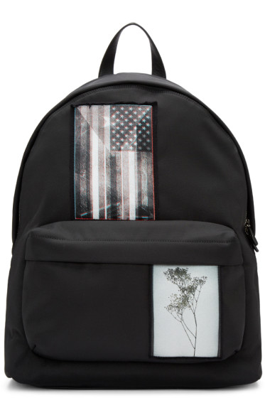 Givenchy - Black Patchwork Iconic Backpack