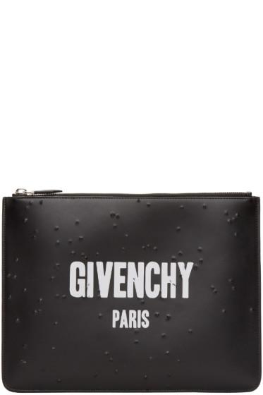 Givenchy - Black Logo Pouch