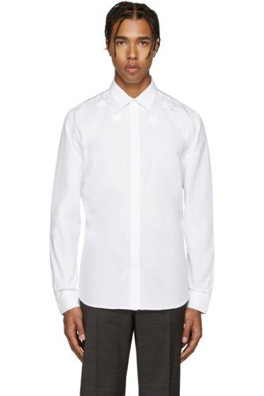 Givenchy - White Stars Shirt