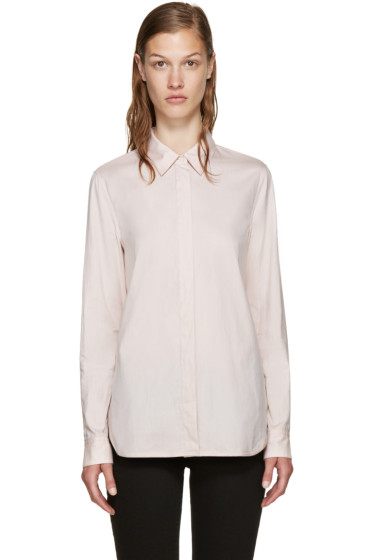 3.1 Phillip Lim - Pink Back Overlay Shirt