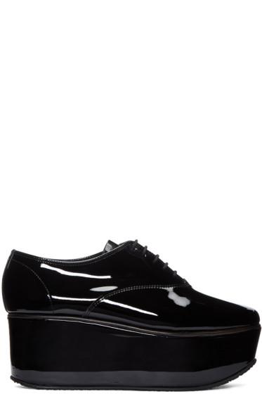 Repetto - Black Patent Leather Donie Oxfords