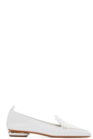 Nicholas Kirkwood - White Beya Loafers