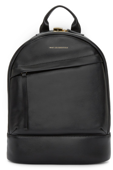 Want Les Essentiels - Black Mini Piper Backpack