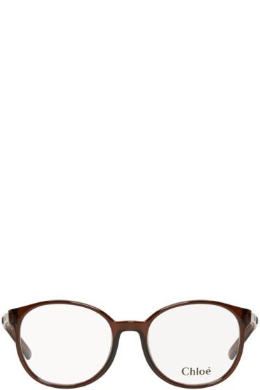 Chloé - Brown Round Glasses