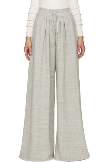 Chloé - Grey Wide Lounge Pants