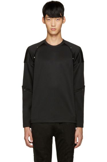 Comme des Garçons Homme Plus - Black Button Stud Pullover