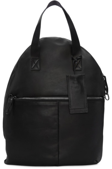 Marsèll - Black Leather Backpack