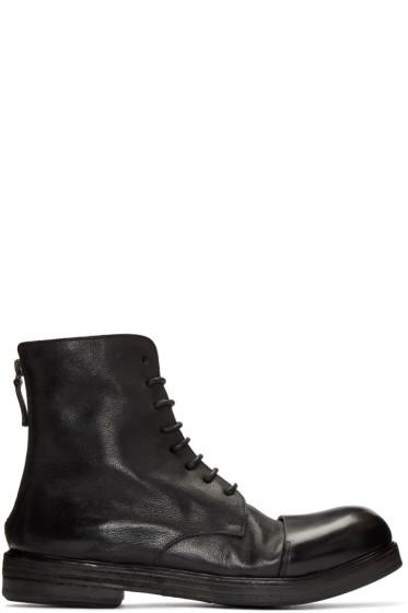 Marsèll - Black Zucca Zeppa Boots