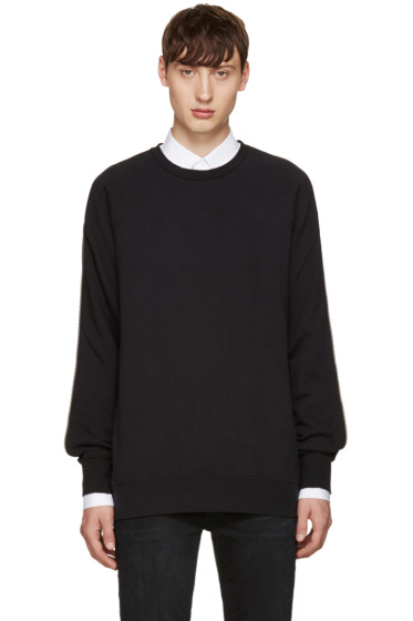 BLK DNM - Black Zippered 67 Pullover
