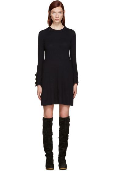 See by Chloé - Navy Wool Dress