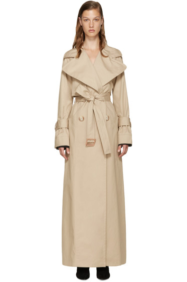 See by Chloé - Beige Long Trench Coat