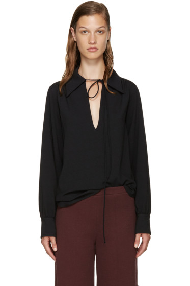 See by Chloé - Black Crepe Blouse