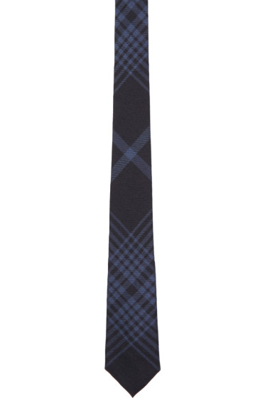 Burberry - Navy Stanfield Tie