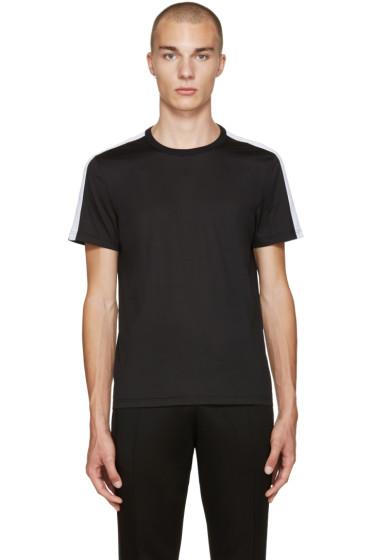 Burberry - Black Sports Stripe T-Shirt